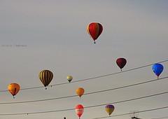 Symphonie  pour  un ballon (Eric DOLLET - Trs peu prsent) Tags: ericdollet couleurs montgolfire