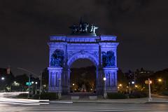 New York_20160910_103 (falconn67) Tags: newyork nyc city travel canon 5dmarkiii 24105l night longexposure brooklyn grandarmyplaza soldiersandsailorsarch arch monument memorial
