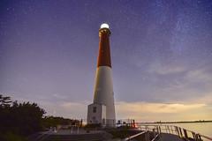 Night Watch (seanbeebe_photo) Tags: barnegatlighthouse longbeachisland nj nightphotography longexposure newjersey stars astrophotography night