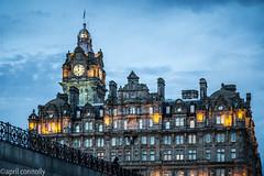balmoral hotel (aprilpix) Tags: edinburgh streetscene architecture scotland aprilpix twilight