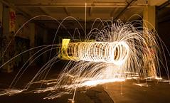 LIGHTPAINTING 1 (pj lens) Tags: 550d canon lightpainting 2014 texture abstrait rond motif cercle organique fond noir surraliste bordure photo calme minimalisme