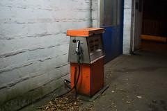 (VampireBassist) Tags: night ilobsterit lights penryn falmouth cornwall urban streets gas station gasstation