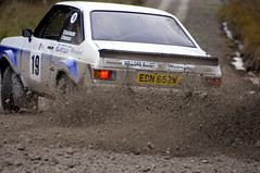 Sideways MK2 Escort at the Malton Forest Rally (Chris McLoughlin) Tags: race action rally motorsport a580 fordescortmk2 chrismcloughlin maltonforestrally samcollis olivermellors sonyalpaa580