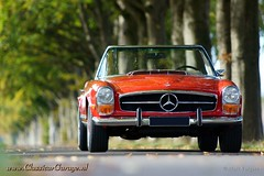 1970 Mercedes-Benz 280 SL Pagoda (ClassicarGarage / Marc Vorgers) Tags: red rot classic rouge pagoda pix sony sigma 1600 sl mercedesbenz marc service 1970 rood slt retina 280 a77 pagode altena ipad 70200f28 vorgers classicargarage