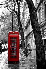 Phone box (-Rozrazil) Tags: road street city uk red england white black tree london english call phone telephone citylife british avenue phonebox