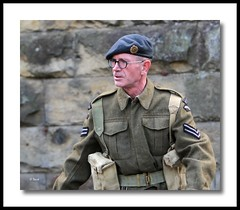 Pickering WW II Weekend (grab a shot) Tags: uk england men train canon vintage soldier army eos war uniform military wwii railway 1940s 7d ww2 reenactment northyorkshire homefront worldwar2 1943 steamtrain 2012 oldfashioned goathland heartbeat livinghistory nymr hogsmeade northyorkshiremoorsrailway aidensfield rafregiment canoneos7d pickeringwarweekend harrypotterfilm