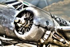 Pratt & Whitney (konrad_photography) Tags: virginia engine twin airshow lynchburg va whitney beechcraft hdr beech pratt c45 c18 n7381c