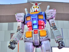 Gundam (markhdrjp) Tags: japan tokyo   odaiba gundam hdr
