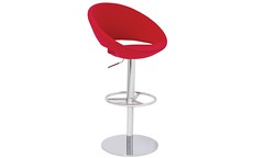 Crescent Piston Stool (Cressina) Tags: comfortable modern bar office chair furniture contemporary commercial dining elegant stool residential stylish modernchairs contemporaryfurniture cressina crescentcollection