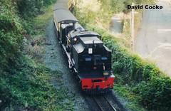 P6892 BP 2-6-2 2-6-2G No.143 Approaching WHR Caernarvon 9.03 (davidncooke_686) Tags: wales train railway steam highland locomotive welsh ng gauge narrow