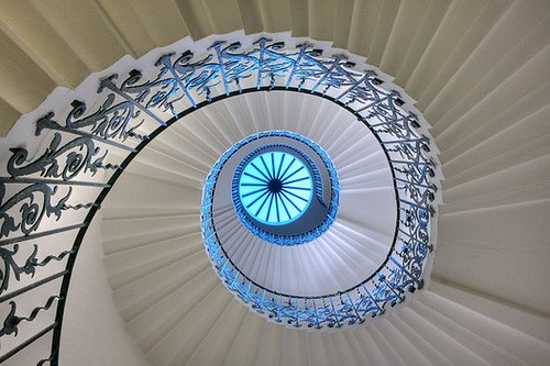 Tulip Stairs in the Queen's House