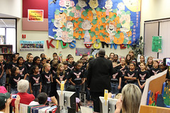 Eagle Spring Choir, Directed by Mr. Whorton (hcplebranch) Tags: winter music crafts books openhouse winterwonderland harriscountypubliclibrary atascocitabranchlibrary 2012winter