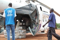 Delivery in South Sudan (UNHCR) Tags: africa southsudan staff unhcr logistics visibility yida sudaneserefugees nfisdistribution
