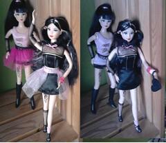 Mystic Girlz (Just a Nobody) Tags: love monster high steffi barbie simba clone girlz copy mystic
