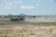 Exercise Wallaby 2012 (cyberpioneer) Tags: australia 2012 saf terrex mindef singaporearmedforces leopardtank singaporearmy exwallaby cyberpioneer exercisewallaby cyberpioneertv exwallaby2012