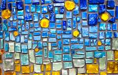 colorful glass mosaic wall background (Maxim Tupikov) Tags: wallpaper house abstract art texture home glass lines stone wall closeup architecture vintage painting tile square ceramic shower grid design pattern exterior floor outdoor mosaic decorative background interior small decoration creative picture surface architectural retro indoors backdrop ornate flooring shape decor element mixture seamless tiled