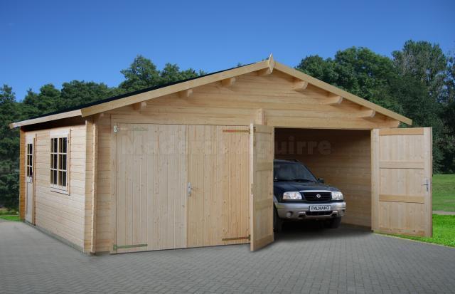 Caseta de jardin Garaje Doble