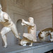 Running Figure and Herakles, East Pediment