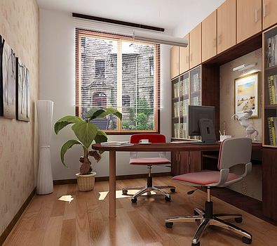 Modern-home-office-layout-homeinfurniture-feng-shui-home-office
