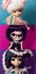 Happy Birthday Azazelle  (Rainbow Magical Orchestra ) Tags: birthday cute happy panda dolls little ooak dal full chan series pullip lovely custom paja prunella regeneration azazelle