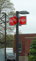 Exterior Wayfinding Parking Lot Signage