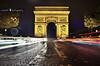 light me up..Paris (PNike (Prashanth Naik)) Tags: road paris france rain architecture night de lights nikon europe arc triumph arcdetriumph cartrails d7000 pnike