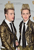 John and Edward Grimes aka Jedward British Academy Children's Awards London