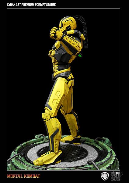 機械忍者CYRAX 塞拉克斯雕像推薦!