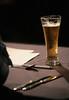 Cool One (peterkelly) Tags: toronto ontario canada beer glass digital pen table knife spoon judge northamerica judging 2012 theroyal royalagriculturalwinterfair heritagecourt royalculinarytheatre royalchefschallenge