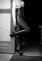 Highheel Boots & leather corset - Torso of Helena (mhy design) Tags: portrait people blackandwhite woman black sexy girl leather fashion fetish germany studio deutschland highheels boots stuttgart sony gothic goth sm blonde corset baden corsage karlsruhe shining pvc femdom dominatrix a77 sadomasochistic wetlook badenwrttemberg sadomasochism mhy leathergirls mhydesign sonya77v helenaarachne