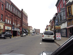 Downtown Kane, Pennsylvania on US-6 (Roadtrip-'62) Tags: architecture buildings downtown pennsylvania kane us6