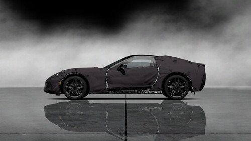 Chevrolet Corvette C7 Test Prototype _갋2_SideLeft