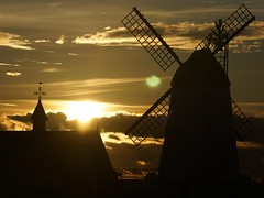 Sunset @ Lytham Windmill (gazza87023) Tags: sunset windmill coast sunsets windmills lancashire lytham fylde
