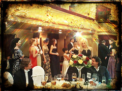 An evening (E Pulejo) Tags: flowers ladies party guests dinner table glasses theatre social event elegant kiev gala ucraine