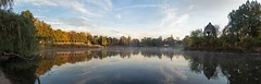 Morgens am Adolf - Mittag - See (diwan) Tags: city sky panorama lake clouds canon reflections germany geotagged deutschland eos see place stitch himmel wolken magdeburg stadt horizont panoramix 2012 morgens inthemorning ptgui saxonyanhalt sachsenanhalt rotehorn adolfmittagsee canoneos650d geo:lon=11643945 geo:lat=52117356