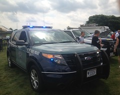 Massachusetts State Police Ford Explorer (TyHampson) Tags: show cars car by ma massachusetts police headquarters august smith springfield 12 tune tuna 2012 tuned wesson