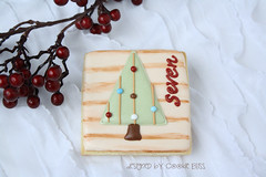 Christmas Advent Calendar 2012 (Cookie Bliss (Laurie)) Tags: santa christmas tree bird stockings cane reindeer snowman advent candy calendar poinsettia gingerbread holly wreath countdown nativity chimneyelf