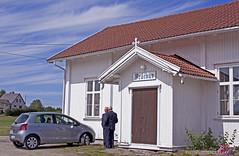 Bedehus (Leifskandsen) Tags: camera summer house man building car sunshine norway canon living pretty god country bible scandinavia bedehus leifskandsen skandsenimages