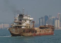 'Hai Bang Da' -  Hong Kong (Neil Pulling) Tags: hongkong boat rust ships rusty shipping southchinasea vessels freighter haibangda
