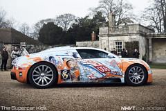 The Bugarti Veyron (NWVT.co.uk) Tags: show house classic ian for amazing play 4 cook created painter bugatti luxury supercar 2012 wilton veyron the tsk hypercar l4p popbangcolour bugarti thesupercarkids