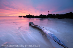 Winters Rise (Justin Kercher Photography) Tags: beach sunrise boat head huts dorset henghistbury