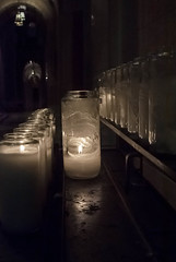 Light a Candle, Say a prayer. (E-Scape Photography) Tags: light love church dark candles cross prayer religion ringexcellence dblringexcellence