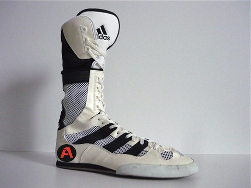 uk availability 15163 9969b Shoes Hi Tops Boxing Boots Rival 90`s Adidas Box A Vintage UwTXpqv