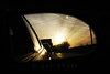 good morning sunshine... (ggcphoto) Tags: road car sunshine sunrise 35mm rearviewmirror ontheroad trafficjam sonyalpha gettyimagesirelandq12012 yahoo:yourpictures=yourbestphotoof2012