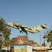 Street of Hargeisa - mig jet