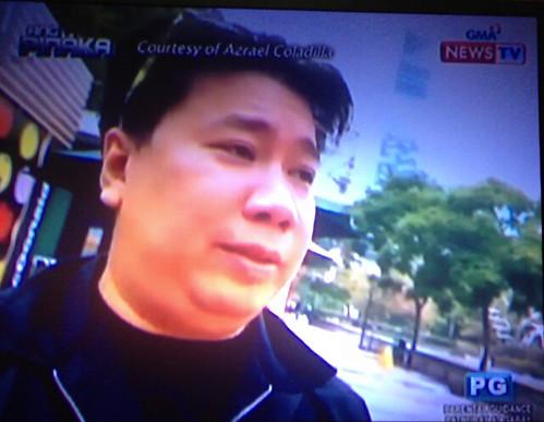"""Az video blog appearance in GMA NEWS TV """"Ang Pinaka"""""""