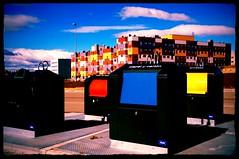 Alcorcn Ao 0 (Luz D. Montero Espuela. + 1.5OO.OOO Views. Thanks!) Tags: madrid blue sky color azul spain arquitectura raw pentax colores bleu nubes nublado recycling nuages espagne nube contenedor contemporaneo reciclaje nuboso espana pentaxk7 luzdmonteroespuela alcorcon