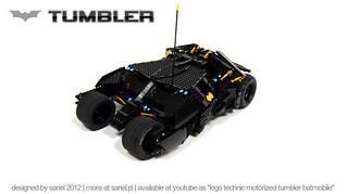 好神!樂高打造的遙控蝙蝠車功能一應俱全!!!