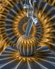 Mystery 5.0 (Smoke Art #628) (Psycho_Babble) Tags: abstract smoke incense smokeart smokephotography smokesphere smokephoto smokemanipulation creativesmoke smokreations