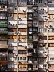 (Uros_Krunic) Tags: red orange building green colors yellow vertical serbia belgrade parallel beograd srbija